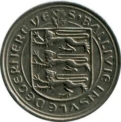 Coin > 5pence, 1977-1982 - Guernsey  - reverse