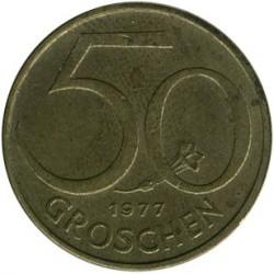 سکه > 50گروشن, 1977 - اتریش   - reverse