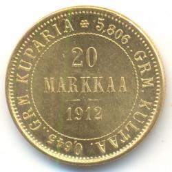 Moneta > 20markkaa, 1878-1913 - Finlandia  - obverse