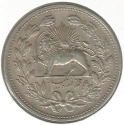 Moneta > 5000dinarów, 1902 - Iran  (Srebro /szary kolor/) - obverse