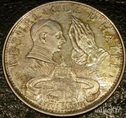 Moneta > 50gourdes, 1974 - Haiti  (Anno Santo) - reverse