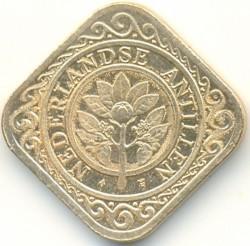 Νόμισμα > 50Σέντς, 1989-2016 - Ολλανδικές Αντίλλες  - obverse