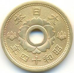 Moneta > 10senów, 1938-1940 - Japonia  - obverse