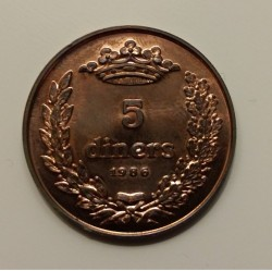 Coin > 5diners, 1986 - Andorra  - obverse