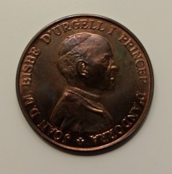 Coin > 5diners, 1986 - Andorra  - reverse