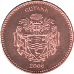 Монета > 5долларов, 1996-2018 - Гайана  - obverse