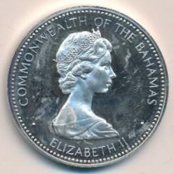 Монета > 10долларов, 1973 - Багамы  (Независимость, 10 июля 1973) - obverse
