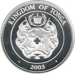 Moneta > 1pa'anga, 2003 - Tonga  (XXVIII Giochi olimpici estivi, Atene 2004) - obverse