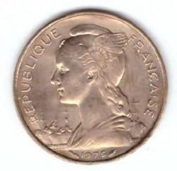 Монета > 20франков, 1968-1975 - Французские афар и исса  - obverse