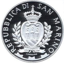 Moneta > 5euro, 2014 - San Marino  (20° Anniversario - Morte di Ayrton Senna) - obverse