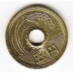 Coin > 5yen, 2010 - Japan  - reverse