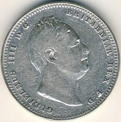 Кованица > 1guilder, 1836 - Британска Гвајана  - obverse