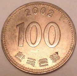 Moneta > 100vonų, 2002 - Pietų Korėja  - reverse