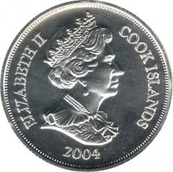 Moneta > 1dolar, 2004 - Wyspy Cooka  (60 rocznica - D-Day) - obverse