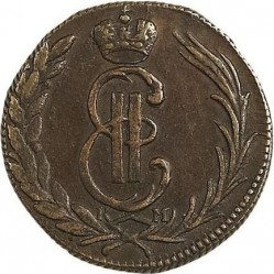Münze > 1Kopeke, 1766-1779 - Russland  - obverse