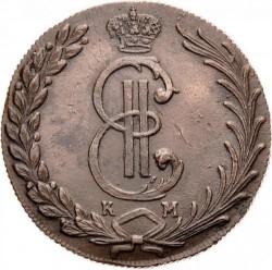 سکه > 10کوپک, 1766-1781 - روسیه  - obverse