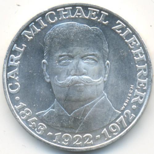 25 Schilling 1972 Carl Michael Ziehrer österreich Münzen Wert