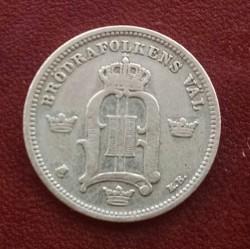 Münze > 10Öre, 1880-1904 - Schweden   - obverse
