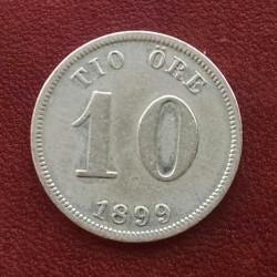 Münze > 10Öre, 1880-1904 - Schweden   - reverse