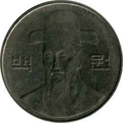 Moneta > 100vonų, 2007 - Pietų Korėja  - obverse