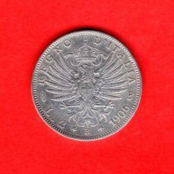 العملة > 2ليرة, 1901-1907 - إيطاليا  - reverse