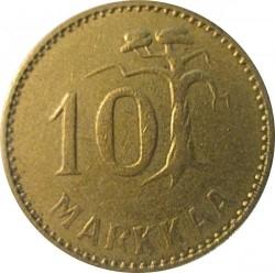 Moneta > 10markių, 1952-1962 - Suomija  - obverse