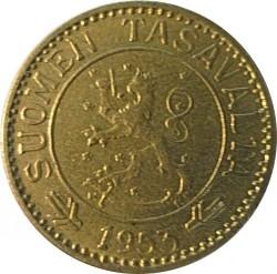 Moneta > 10markių, 1952-1962 - Suomija  - reverse