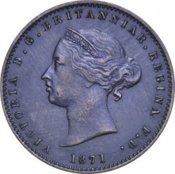 Coin > 1/26 shilling, 1866-1871 - Jersey  - obverse