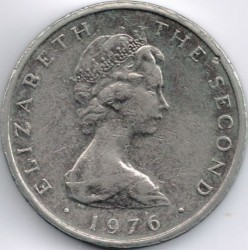 Coin > 10pence, 1976-1979 - Isle of Man  - reverse