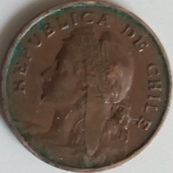 Coin > 2½ centavos, 1904-1908 - Chile  - obverse