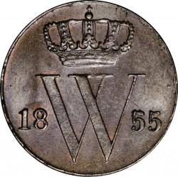 Moneta > ½centesimi, 1850-1877 - Paesi Bassi  - obverse