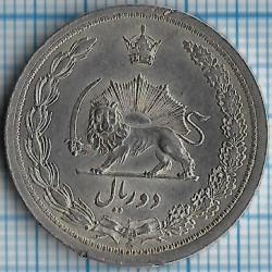 Монета > 2риала, 1931-1934 - Иран  - reverse