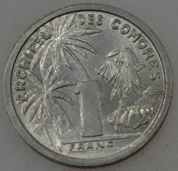 Монета > 1франк, 1964 - Коморские острова  - obverse