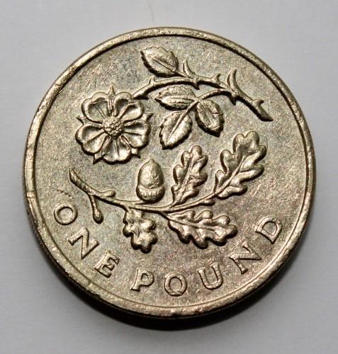 1 Pfund 2013 Rose And Oak Vereinigtes Königreich Münzen Wert