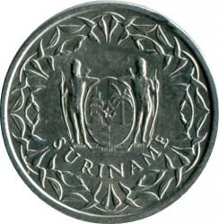 العملة > ١سنت, 1974-1986 - سورينام  - obverse
