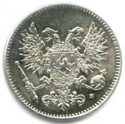 Moneta > 50penniä, 1917 - Finlandia  (Aquila senza corona) - reverse
