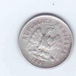 Münze > 10Centavos, 1869-1897 - Mexiko  - obverse