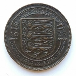 Coin > 1/24shilling, 1923-1926 - Jersey  - obverse