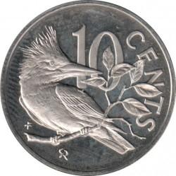 Moneta > 10centesimi, 1973-1984 - Isole Vergini Britanniche  - reverse