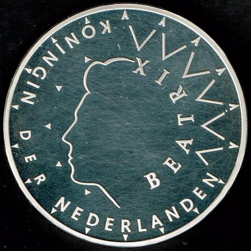 50 Gulden 1987 Wedding Of Queen Juliana And Prince Bernhard