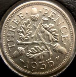 Moeda > 3pence, 1928-1936 - Reino Unido  - reverse