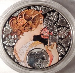 Moneta > 1dolar, 2011 - Niue  (Znaki zodiaku - Byk) - obverse
