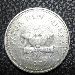 Mynt > 20toea, 1978 - Papua Ny-Guinea  - obverse