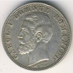 מטבע > 1לאי, 1881 - רומניה  - obverse