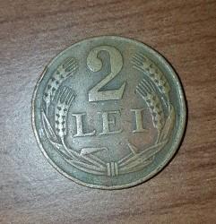 Moneda > 2lei, 1947 - Rumanía  - reverse