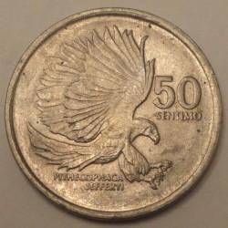Moneta > 50sentimos, 1983-1990 - Filippine  - reverse