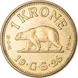 Монета > 1крона, 1926 - Гренландия  - reverse