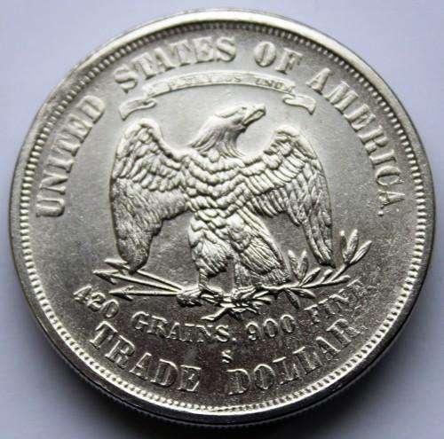 1 Dollar 1873 1878 Trade Dollar Usa Münzen Wert Ucoinnet