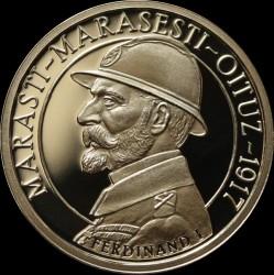 Moneta > 50banių, 2017 - Rumunija  (100th Anniversary - The Romanian Army's Victories /Mărăşti, Mărăşeşti, Oituz/) - reverse
