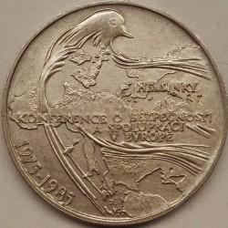 Moneta > 100corone, 1985 - Cecoslovacchia  (10° anniversario - Conferenza di Helsinki) - reverse